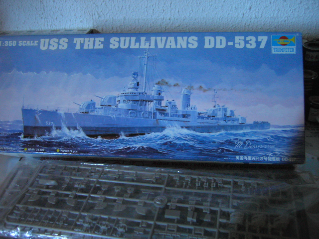 USS THE SULLIVANS 1/350 Pict8210