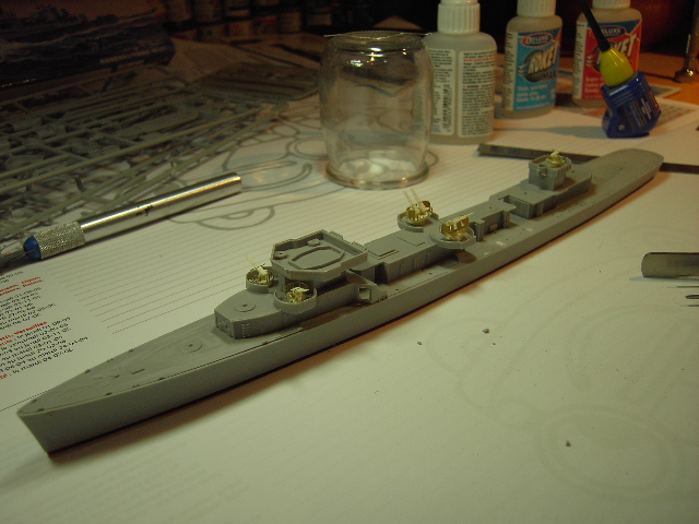 USS THE SULLIVANS 1/350 Pict8215