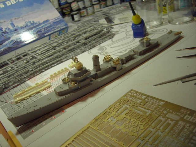 USS THE SULLIVANS 1/350 Pict8222