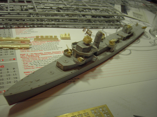 USS THE SULLIVANS 1/350 Pict8310