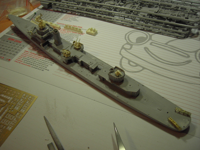 USS THE SULLIVANS 1/350 Pict8311