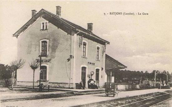 Pk 348,5 : Gare de Lempaut (81) Landes12