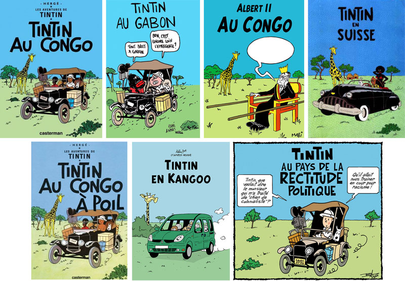 Détournements de BD Tintin Tintin10