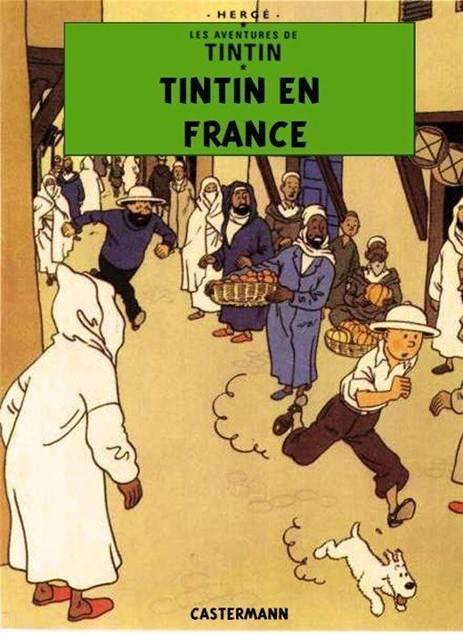 Détournements de BD Tintin Tintin14