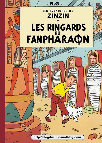 Détournements de BD Tintin Tintin16