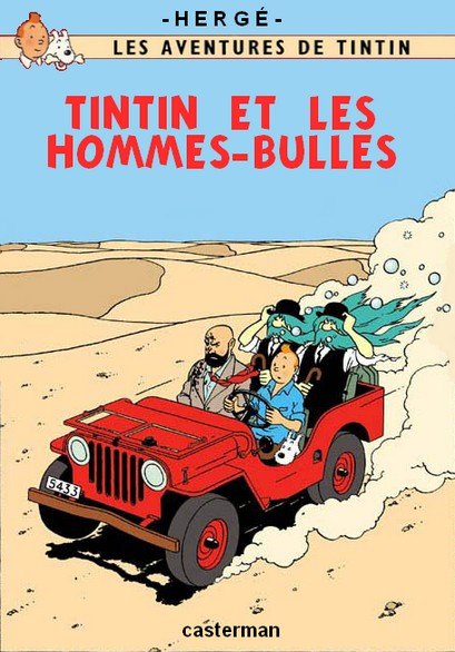 Détournements de BD Tintin Tintin17
