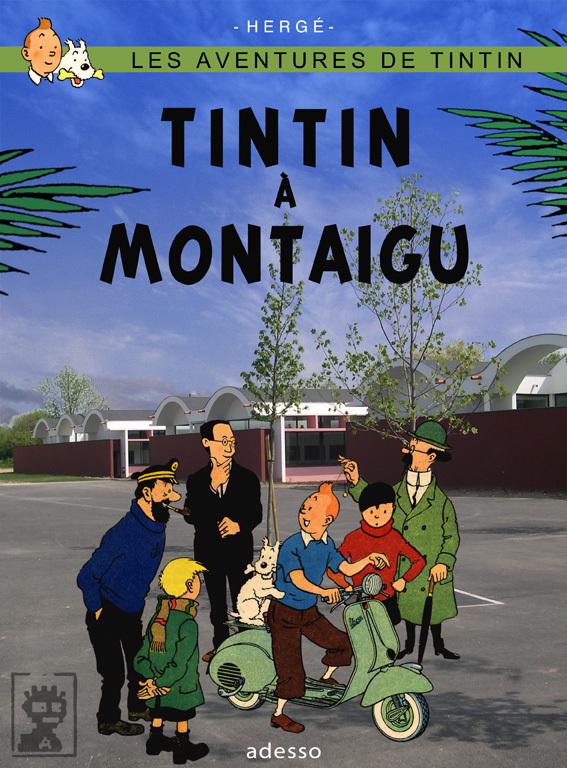 Détournements de BD Tintin Tintin18