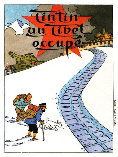 Détournements de BD Tintin Tintin22
