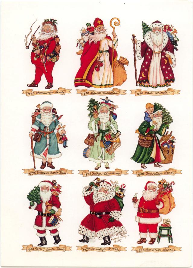 ΧΡΙΣΤΟΥΓΕΝΝΑ ΣΕ ΟΛΗ ΤΗ ΓΗ  και η παράδοση για τα δώρα!  Santas10
