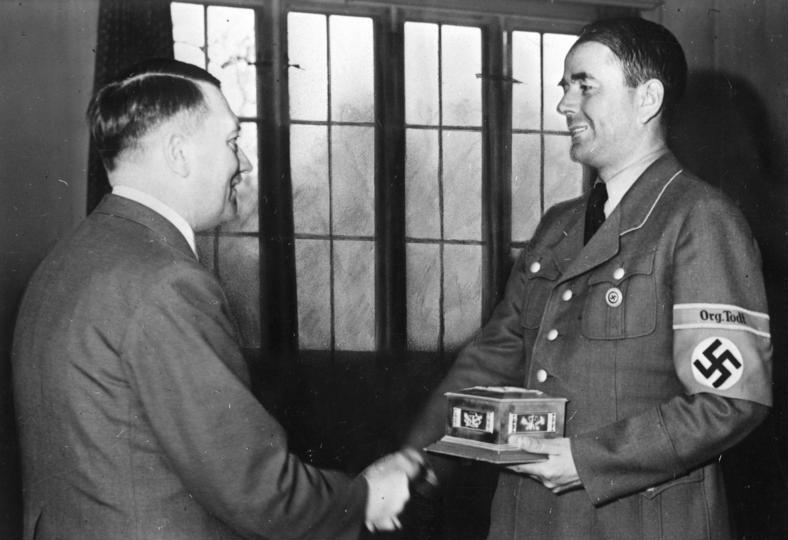 """""""Org.Todt und NSDAP Armelbinde"""" (1942-1945) Bundes10"""