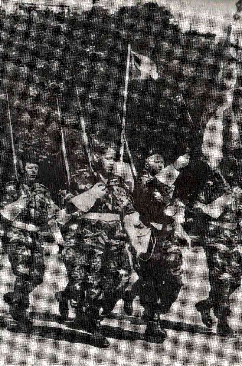 Drapeau des Commandos Parachutistes de l'Air 14_jui10