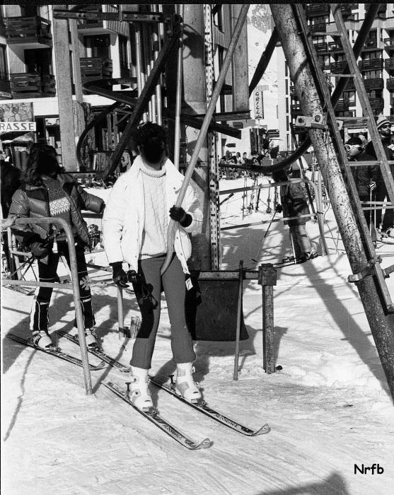 [Tignes] Photos d'archives des remontées mécaniques - Page 4 Claret10