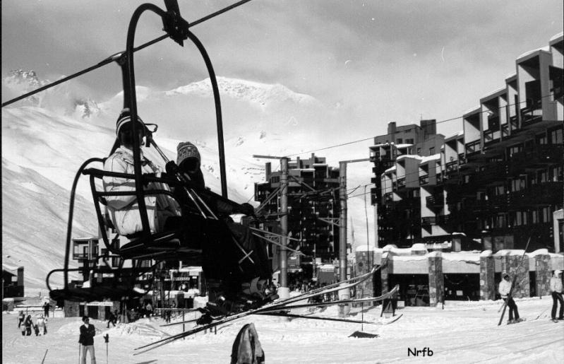 [Tignes] Photos d'archives des remontées mécaniques - Page 4 Claret12
