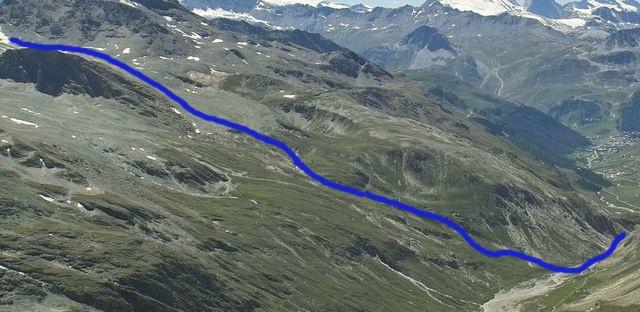 Val d'isère : Les gorges de Malpasset Sansti12