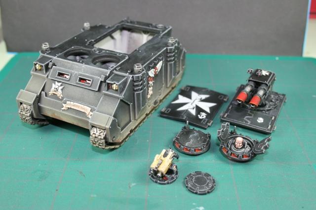 Mon armée de Black Templar en construction Rhino_14
