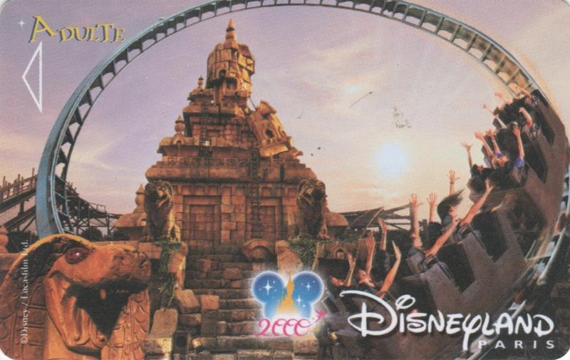 Passeport Disneyland Paris 00112