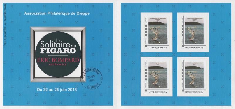 76 - Dieppe - Association Philatélique -Solitaire du Figaro  003_8010
