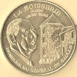 Colombey-les-deux-Eglises (52330) [Mémorial Charles de Gaulle UEAZ]  Boisse10