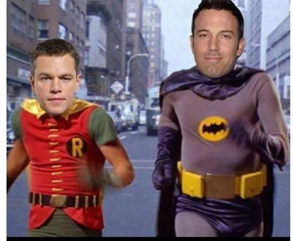 Ben Affleck is the new Batman. 12342410