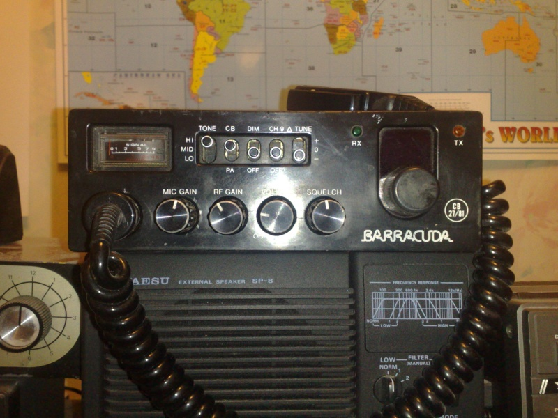cb radio barracuda 40 channel sold 18112011