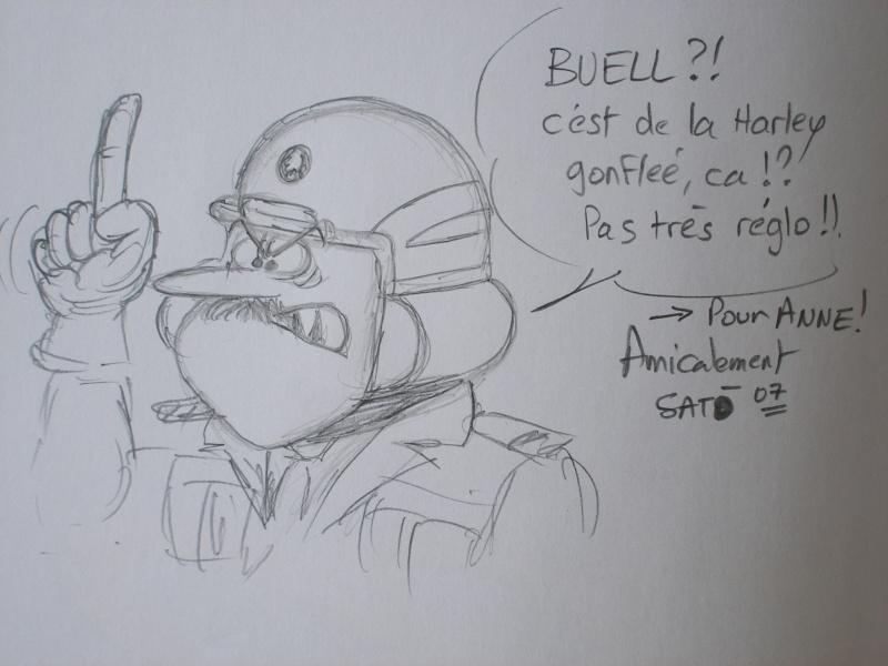 Bandes dessinées moto Bd200813