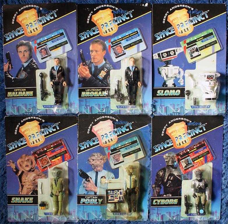 Space Precinct (Vivid Imaginations) 1994 Spacep10
