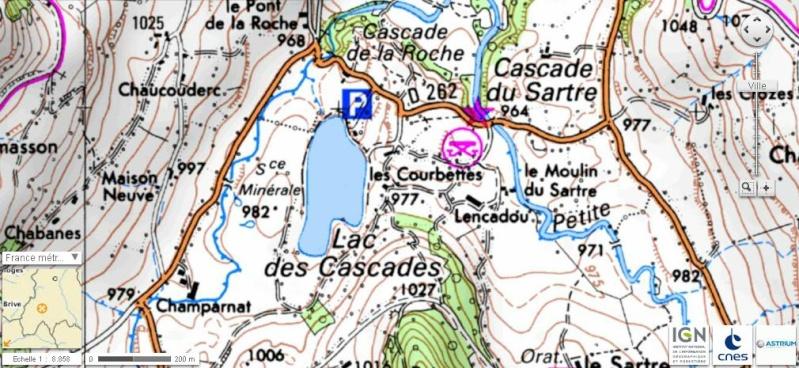 Lac des Cascades - Cheylade Sans_t10