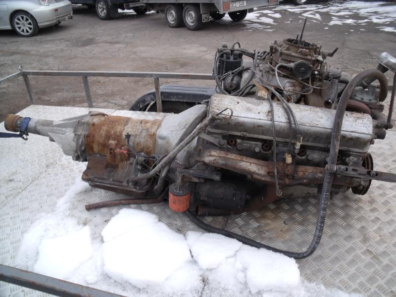 moteur+ boite a vitesse Cadillac 1954 Dscf3717