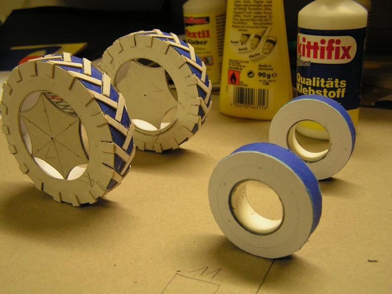 Geräteträger RS-09 1:20 Ein neuer Versuch gebaut von klebegold 14k10
