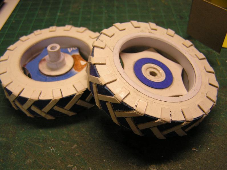 Geräteträger RS-09 1:20 Ein neuer Versuch gebaut von klebegold 17k10