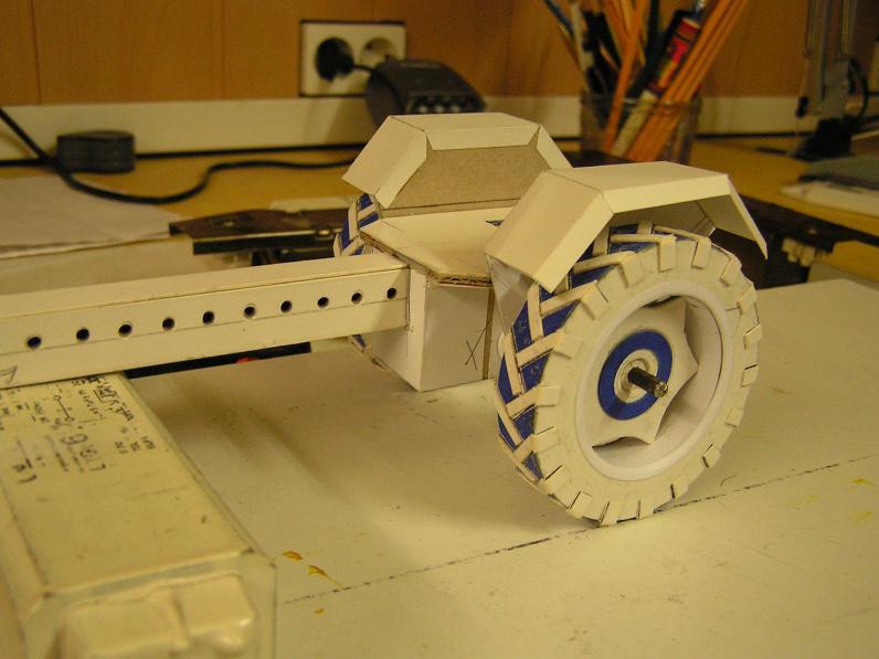 Geräteträger RS-09 1:20 Ein neuer Versuch gebaut von klebegold 25k10
