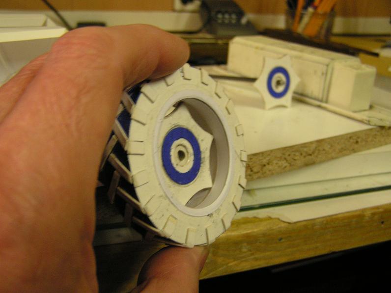 Geräteträger RS-09 1:20 Ein neuer Versuch gebaut von klebegold 32k10