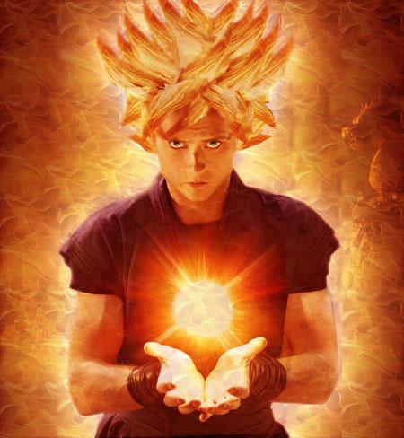 Tutorial Photoshop CREAR AURA A LO DRAGONBALL Goku-s12