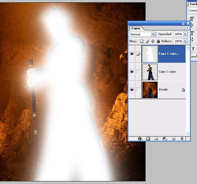 Tutorial Photoshop CREAR AURA A LO DRAGONBALL Tutori14