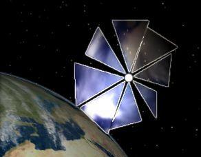 Membrane solaire photoélectrique pour rejoindre Pluton Cosmos10