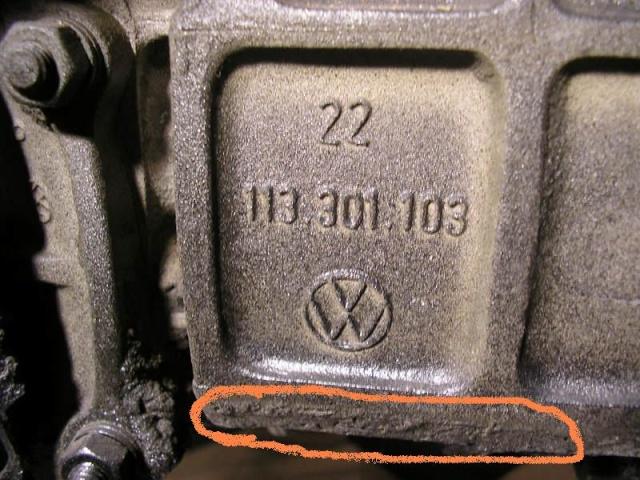 boite de vitesse - comment la reconnaitre ? - Pb244810