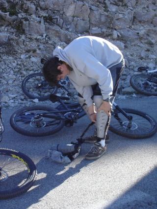 Novembre 2008 - Le Mont Ventoux Dsc07628
