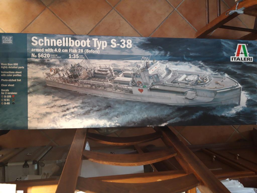 Schnellboot de Italeri au 1/35 20200319