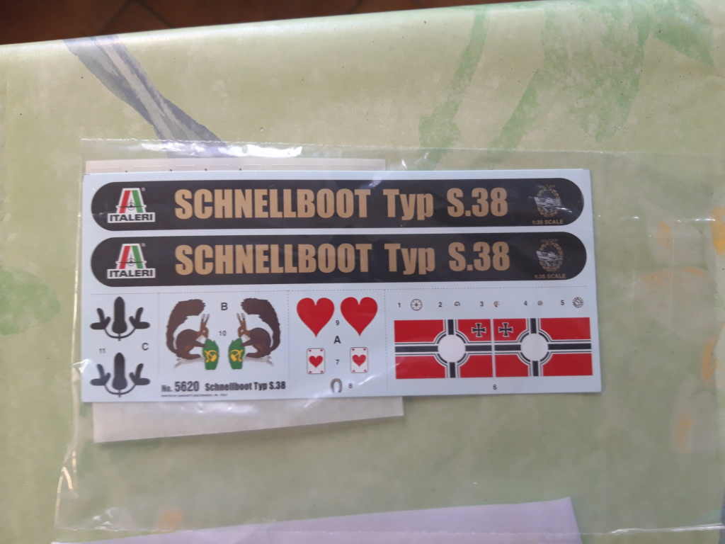 Schnellboot de Italeri au 1/35 20200331