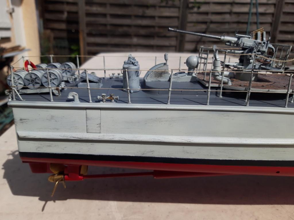 Schnellboot Type S38 1/35 Italéri modèle terminé. 20200825