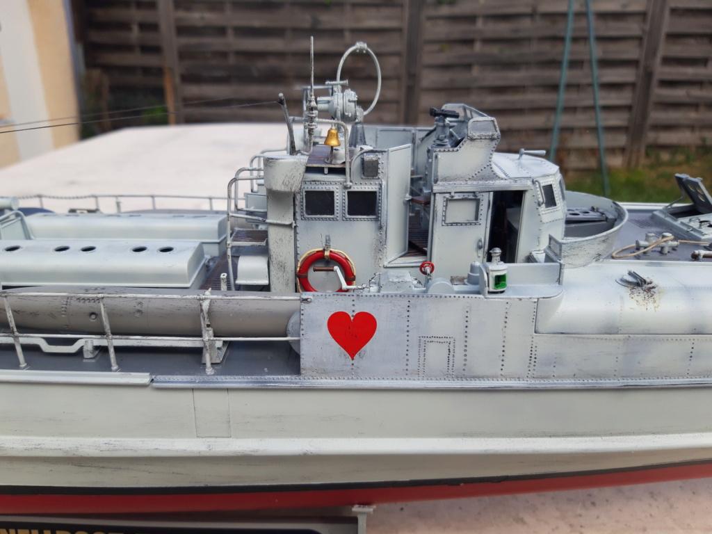 Schnellboot Type S38 1/35 Italéri modèle terminé. 20200827
