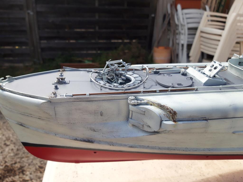 Schnellboot Type S38 1/35 Italéri modèle terminé. 20200829