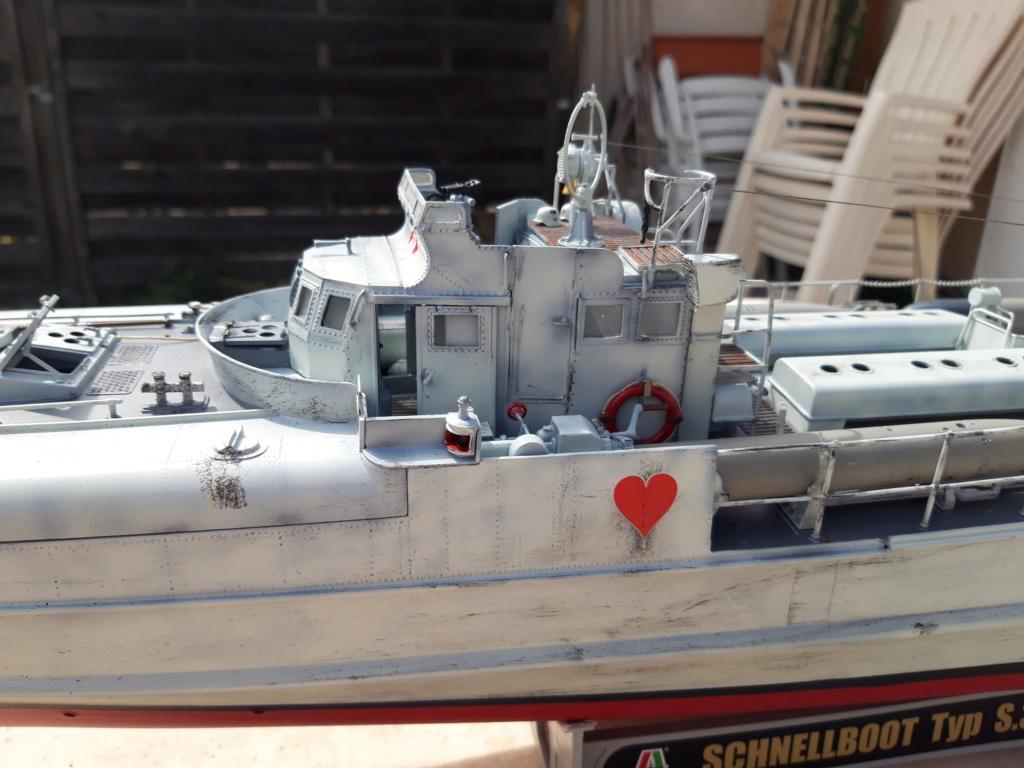 Schnellboot Type S38 1/35 Italéri modèle terminé. 20200830