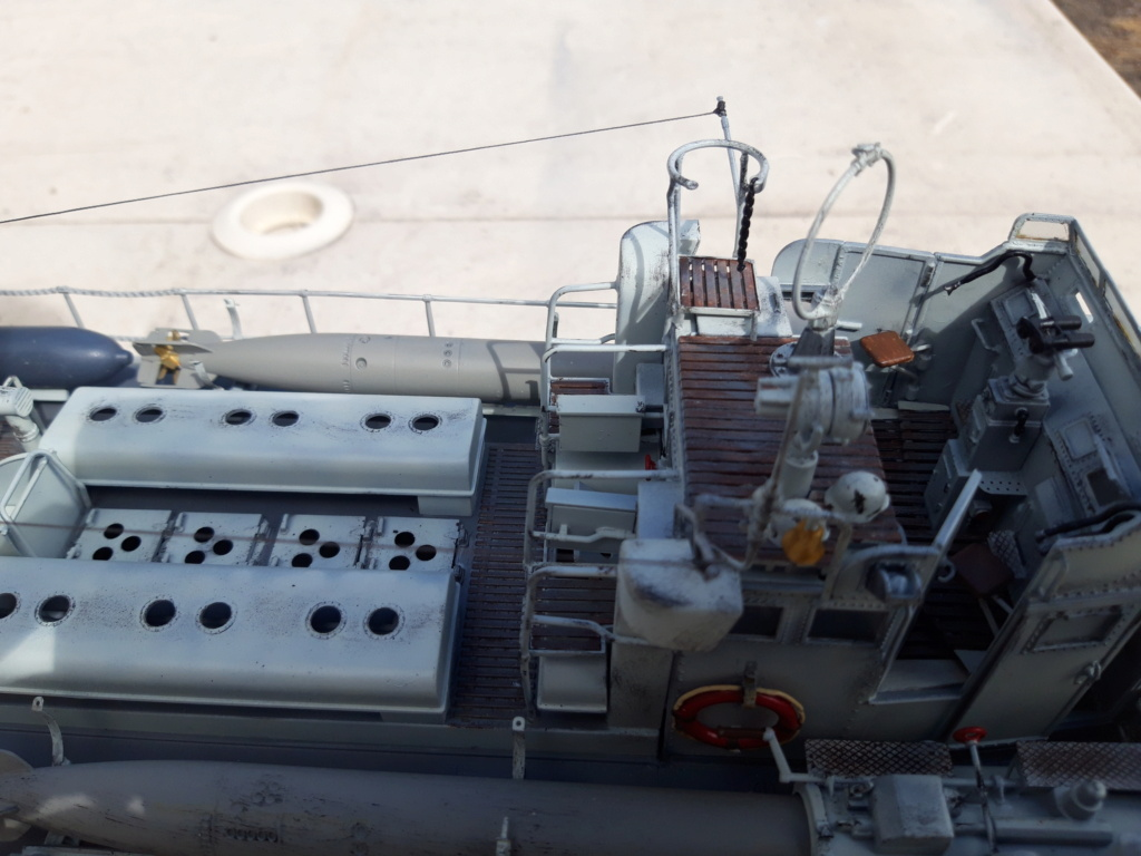 Schnellboot Type S38 1/35 Italéri modèle terminé. 20200831