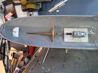 """Corvette Class Flower """"Snowberry"""" au 1/72 20200930"""