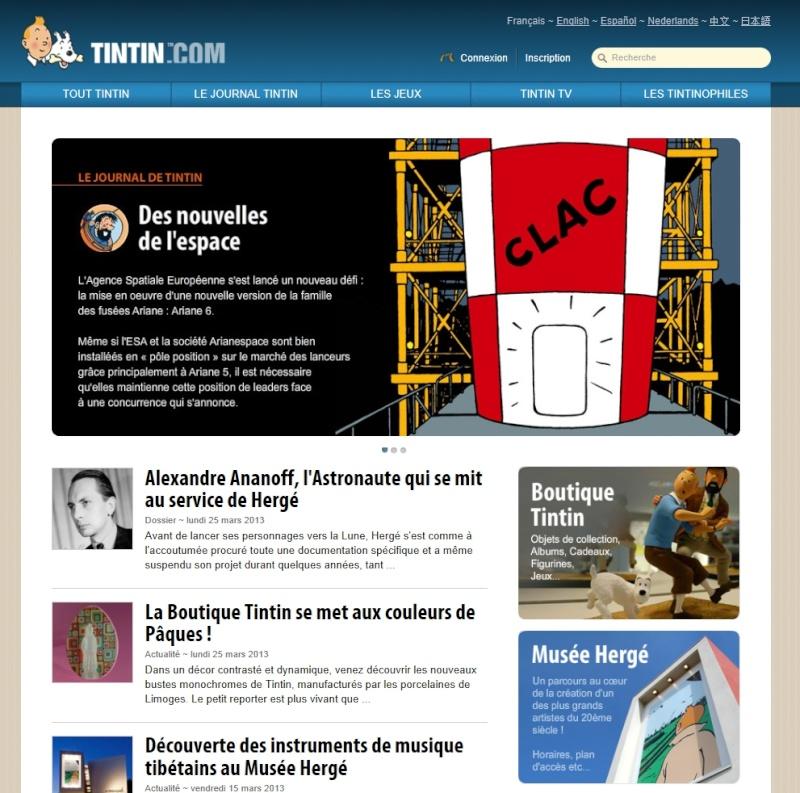 Biographie d'Alexandre Ananoff: parution et événements associés Tintin10