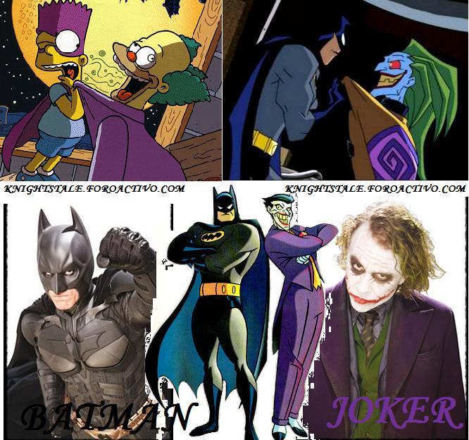 Batman VS Joker Dibujo17
