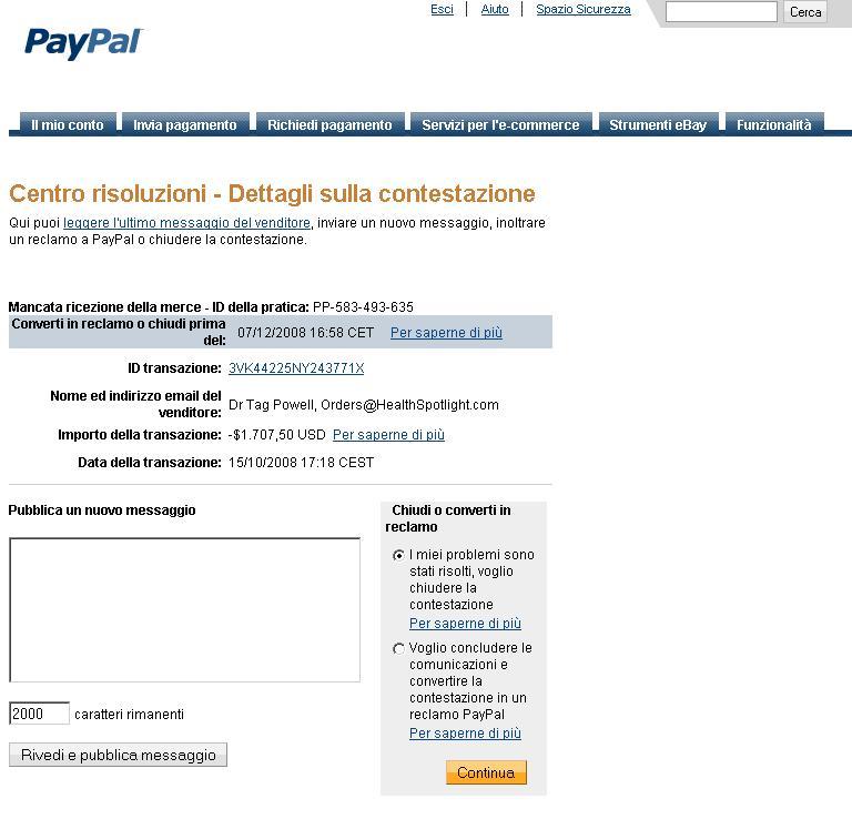 VITAMINA C IN LIPOSOMI - Adesioni - Pagina 4 Paypal10