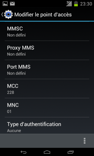 [RESOLU] envois SMS, MMS, connection WIFI - Page 2 Screen17