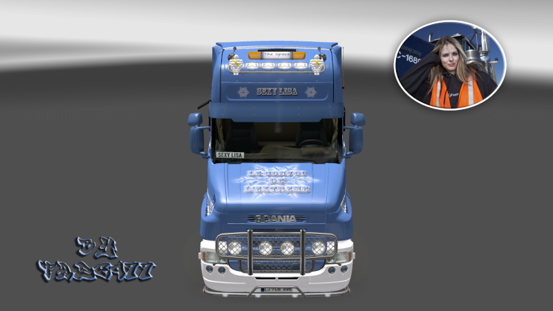 SKIN : Scania T 1010Ch Sexy Lisa Ets2_020